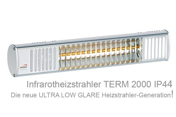 Infrarot-Heizstrahler TERM 2000 IP44