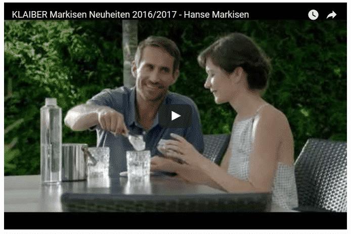 Klaiber Markisen Sonnenschutz Neuheiten 2017